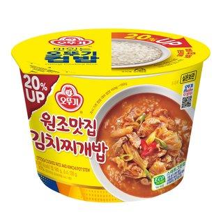 오뚜기_맛있는컵밥원조맛집김치찌개밥_280G
