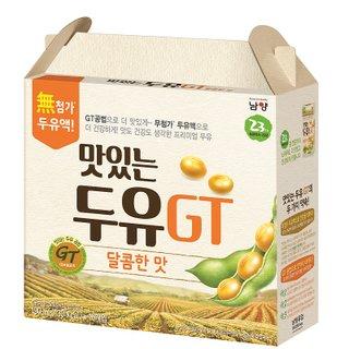 남양 맛있는두유GT달콤한맛 190ML*16