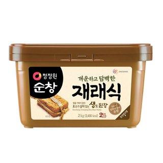 대상_청정원순창재래식안심생된장_2KG