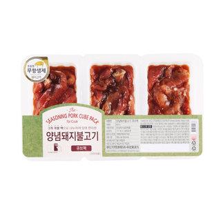 양념돼지불고기(큐브팩)_600 g
