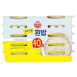 오뚜기_맛있는밥10입_210G*10