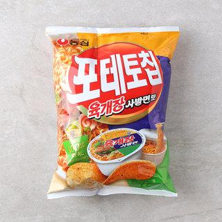 농심_포테토칩육개장사발면맛_125G