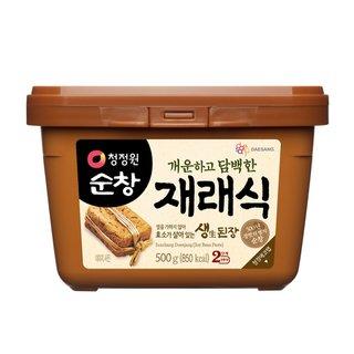 대상_청정원순창재래식안심생된장_500G