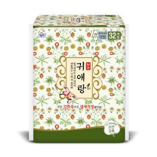 바디피트 귀애랑울트라날개 대형32매