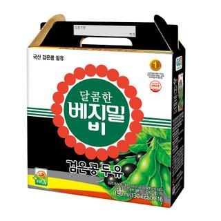 정식품 베지밀달콤한검은콩B 190ML*16