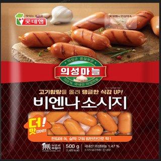 롯데_의성마늘비엔나_640G(320g*2)_..