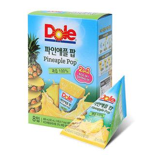 H)Dole 후룻팝 파인애플(62ml*8)