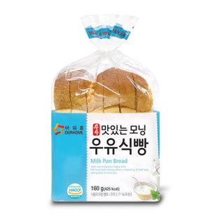아워홈_맛있는모닝우유식빵_160G_..