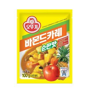 오뚜기_바몬드골드카레순한맛_100G