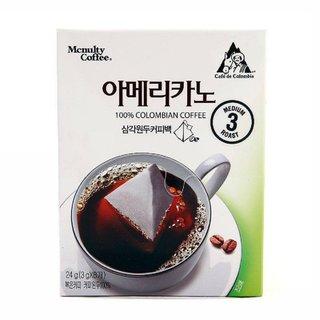맥널티 아메리카노삼각원두커피백 8T(24G)